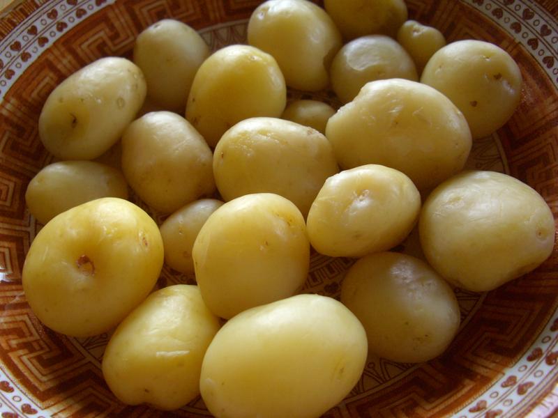 ジャガイモ インカのひとみ 調理後