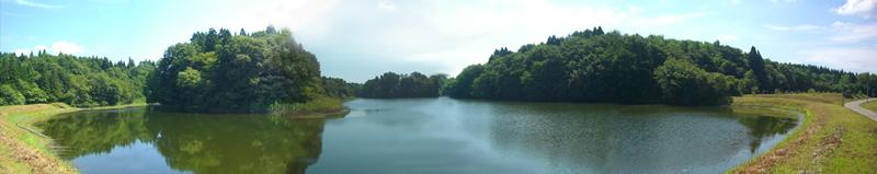 強首にある秘密の湖