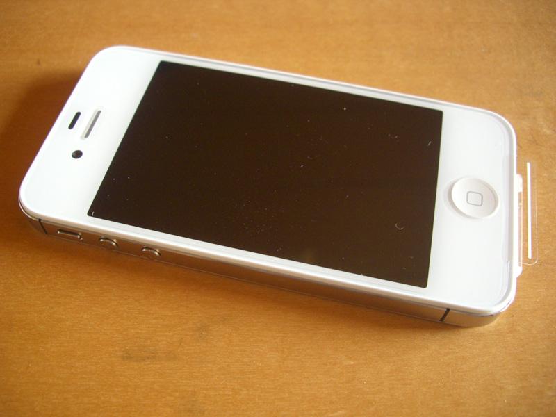 iPhone4s来ました!