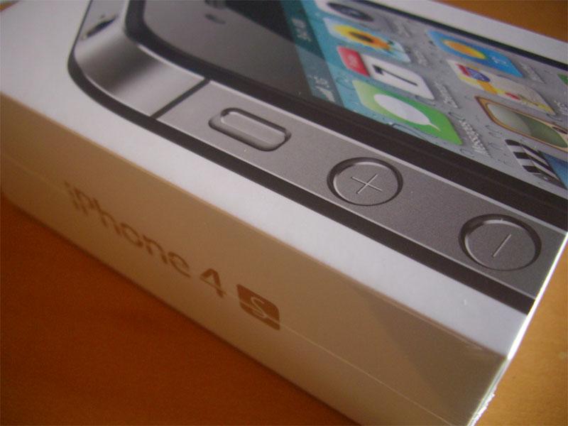 iPhone4s Black アクティベート
