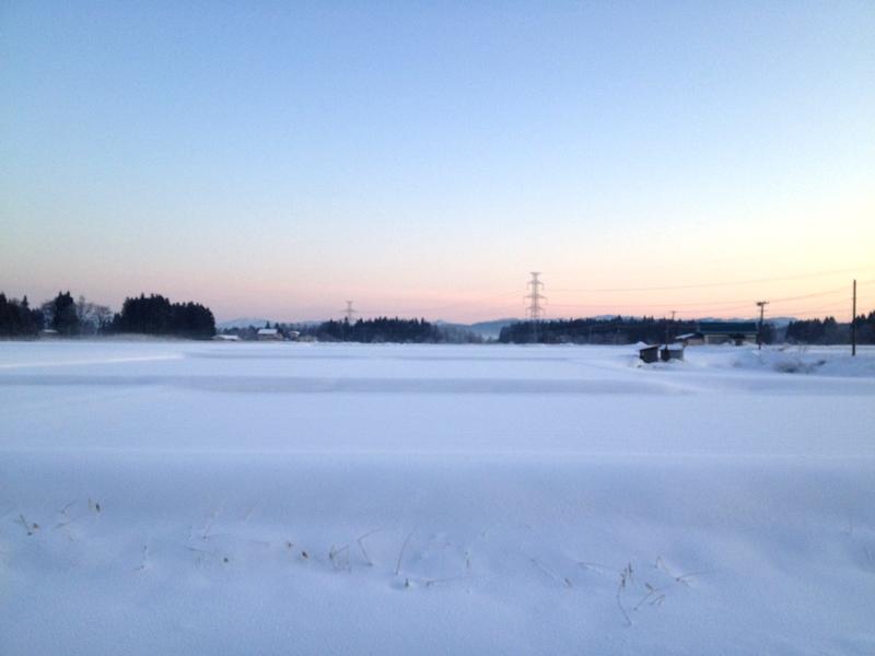 akita kowakubi winter