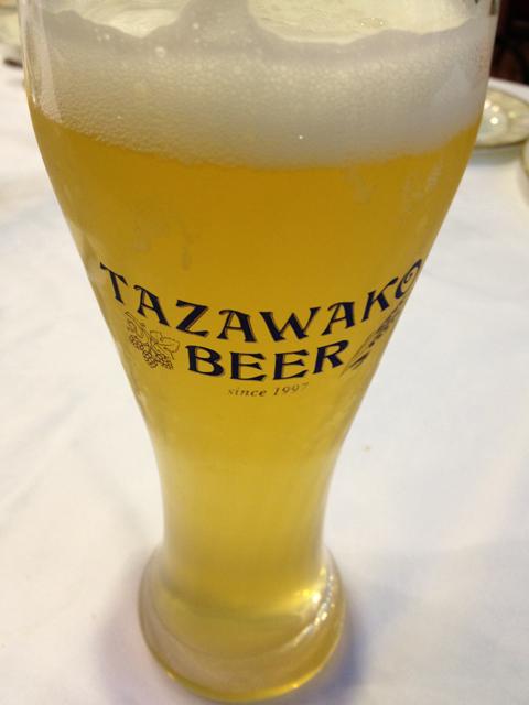田沢湖ビール バイツェン 本日解禁