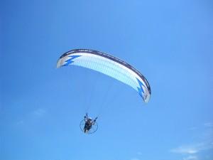 昨日の桂浜 モーターパラグライダー協会のイベント