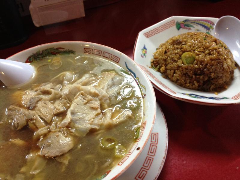 Akita food ramen
