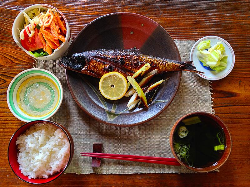 ニシンの醤油麹漬け焼き定食