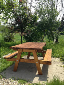 DIY日記 その1 ガーデンテーブル製作